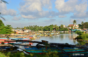 Hafen in Negombo