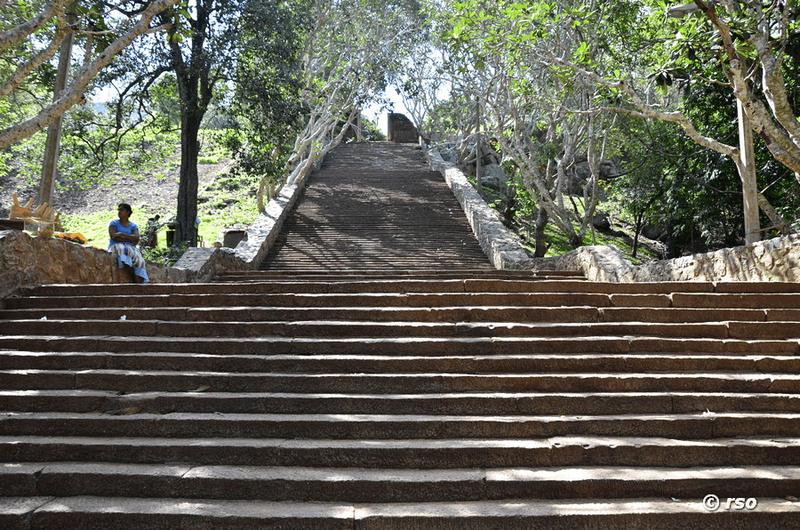Le Treppenaufgang mihintale in sri lanka fotos und bilder
