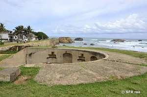 Fort in Galle, Kanonestand