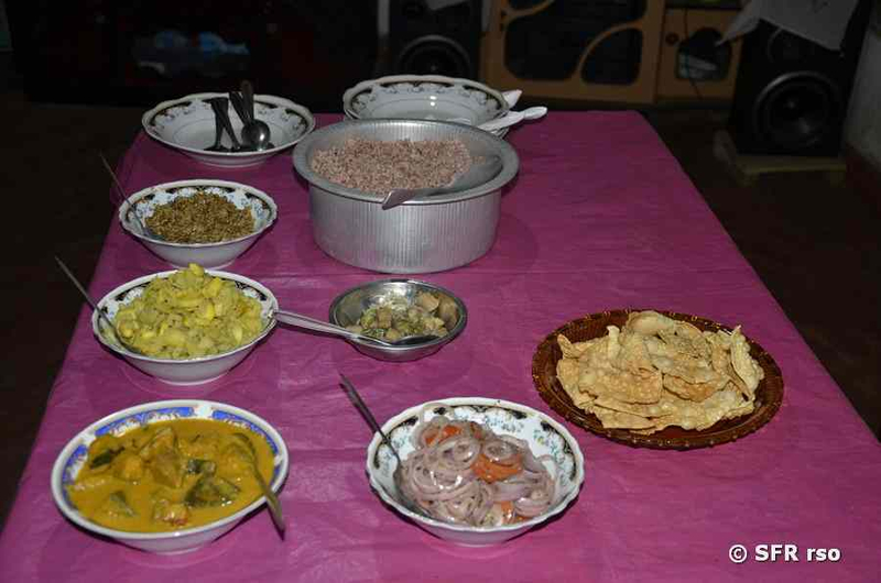 Essen und Trinken - Typische Gerichte auf Sri Lanka